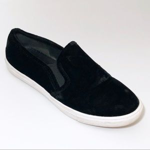 Steve Madden Ecntrcv Black Suede Slipon sneakers 8